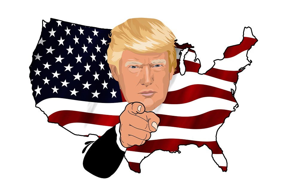 Amerika a Trum