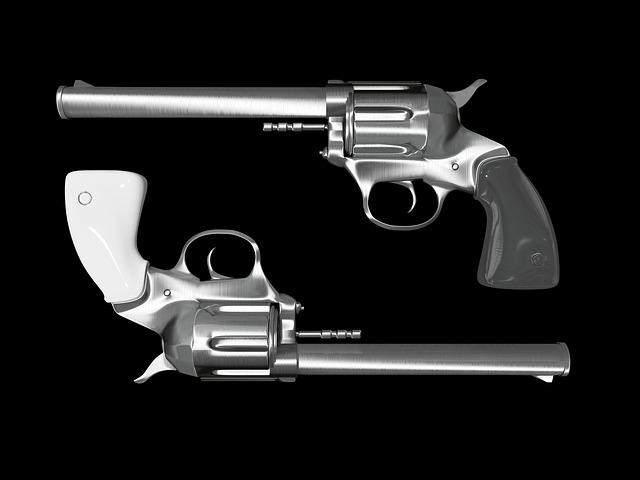 dvě pistole